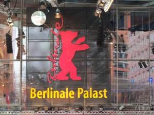 Bild von der Frontseite des Berlinalepalastes am Potsdamer Platz